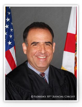 Portrait of Judge Peter F. Estrada
