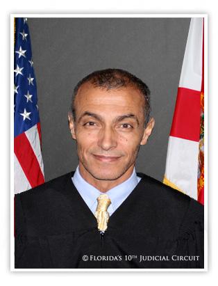 Portrait of Judge Jalal Harb